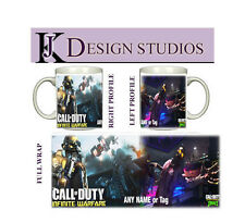 Call of Duty Infinite Warfare Personalised Gaming Fan Mug
