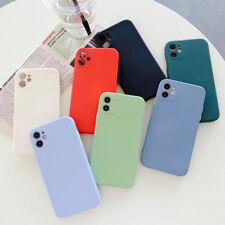 TPU Rubber Color Liquid Silicone Hybrid Slim Protective Phone Case Cover Skin