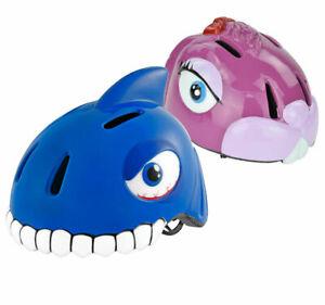 Kinder Schutzhelm 0-12 Jahre 49-55cm verstellbar Tier Hase Hai Fahrradhelm TÜV