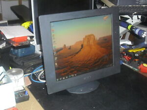 """Sony SDM-X72 17"""" LCD Monitor with Built in Speakers"""
