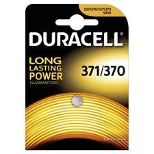 1x Duracell 371 / 370 SR920SW SR920W V371 SR69 Batterie Knopfzelle MHD 2021