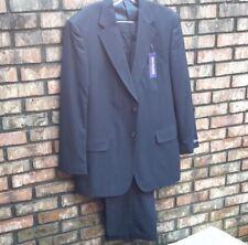 Bert Pulitzer Men's Dark Blue Pin Stripe Wool Blend Suit 44 Long Pants 40W x 30L
