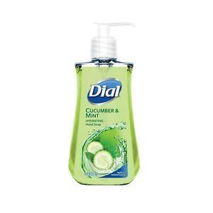 Dial Liquid Hand Soap, Cucumber & Mint, 7.5 Fluid Ounces na