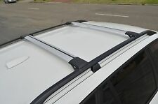 Aero Alloy Roof Rack Slim Cross Bar for Holden Captiva 7 2007-18 Raised Rail