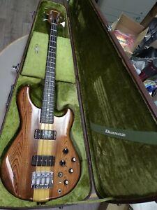 1979 Ibanez Musician  MC 900 DS / MC900DS Bass Natural Dark Stain, Original Case