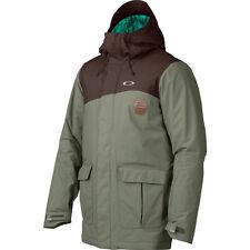 Men's Oakley Jeda Ski Snow Snowboard Jacket Worn Olive Green Size Small S