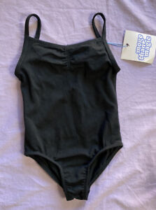 More Than Magic Toddler Girl Cami Dance Leotard Black Size 3T