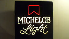 Vintage 1970'S 80'S Michelob Light Lighted Beer Sign Union Made Neo Neon Style