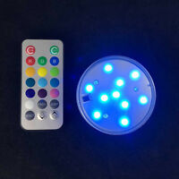 1set hookah shisha accessories battery operated Led Light with remote control cr