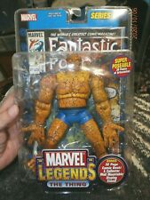 FANTASIC FOUR MARVEL LEGENDS SERIES 2 FIGURE THE THING 2002 TOY BIZ (NIP)