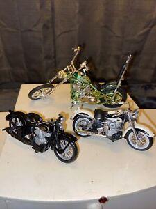 Maisto Harley Davidson 1/64 Motorcycles & Larger Harley Davidson Scale Model🤩