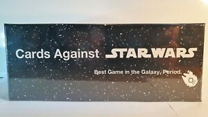 Compatible with Cards Against Humanity CARDS AGAINST STAR WARS!