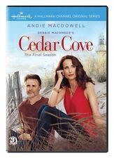 CEDAR COVE DVD - COMPLETE SEASONS 1 & 2 & 3 [9 DISCS] - NEW UNOPENED - HALLMARK