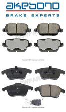 For Land Rover LR2 08-12 Front & Rear Brake Pad Set Akebono Euro