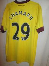 Arsenal 2010-2011 Chamakh Away Football Shirt Size Large /24457