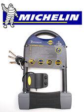 Antivol U Michelin Vélo 110 x 245 diamètre 14 + support 3 clé clef NEUF