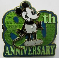 Disney WDW Mickey's 80th Anniversary 1928 Mickey Mouse Pin **