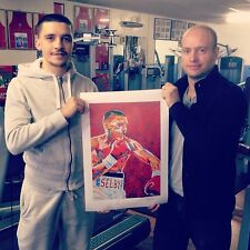 Boxing Lee Selby Signed Contemporary Art Print By Patrick J. Killian