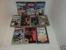 10 x Spiele / Games für Sony PSP (Monster Hunter, Die Sims, Test Drive, u.v.m)