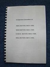 Amalgamated Carburetters 1923 -1930 Information on Amac, Binks, B & B, Amal AM01
