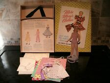 VINTAGE 1949 WHITMAN MARK MARY'S CLOTHES IN BOX