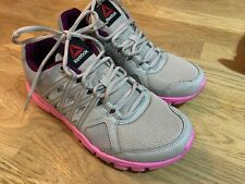 Reebok Running Trainers Micro Web Size 5.5 UK Foam Soles Gym Workout