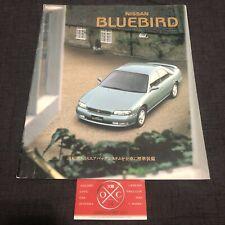Nissan Bluebird Brochure JDM Rare 91-97 92 93 94 95 96 Altima U13 SSS Attessa
