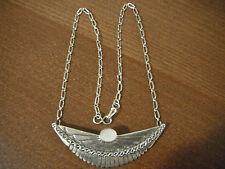 Navajo DE CHELLY  Sterling Silver Pendant Necklace