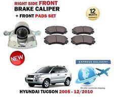 Per Hyundai Tucson 2.0 Crdi 2.7 2.0i 2005-2010 Ant Dx Pinza Freno + Pastiglie