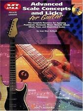 Advanced Scale Concepts And Licks For Guitar: Private Lessons (musicians Inst...