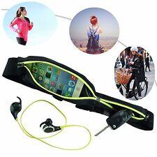 Waistband gear pouch trail running belt.
