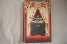 Au massacre mondain Frédéric Dard 1948 édition Chatelet Lyon