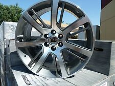 "4) 24"" 2015 Cadillac Escalade Grey Machined Chevy GMC Wheels Rims set 22 22"" 24"