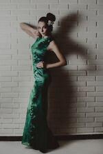 Handmade  Long  Dress   Green   Women's  Size M