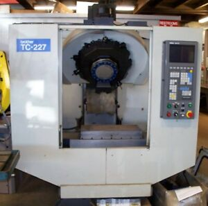 #9244: Brother CNC Drilling and Tapping Center