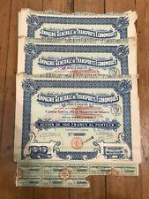 10 x DECO=> Compagnie Générale de TRANSPORTS ECONOMIQUES for 1€ ?