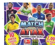 Match Attax 2015/16 Bundesliga 20 Basis + Sonderkarten + Matchwinner aussuchen