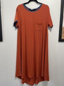 LuLaRoe Women's Carly Dress With Pocket NWT Size L