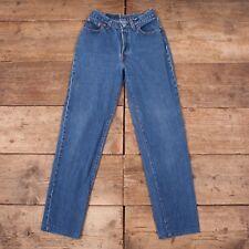 "Womens Vintage Levis 501 Red Tab 1990s Mom Boyfriend Jeans USA 28""x 32"" R7375"
