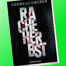 ANDREAS GRUBER   RACHEHERBST   Thriller   Rache Herbst (Buch)