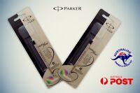2 X Parker Quink ball pen Refill black Brand New For Jotter Classic Vector
