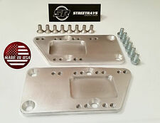 SR Adjustable Engine Mount Adapter Plates LS1 LSX Swap Blazer El Camino C10 SBC