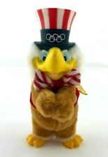 Vtg 1984 Summer Olympics Los Angeles Sam Eagle Mascot Clip-On Applause Plush