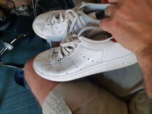 Ladies Adidas Stan Smith Trainers red backs Size 5.5