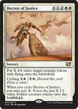 Decree of Justice Commander 2014 MTG White Sorcery Angel RARE