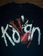 KORN BAND BAGPIPES T-Shirt SMALL NEW