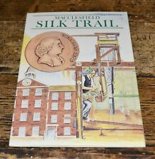 More details for vintage macclesfield silk trail pull-out map leaflet