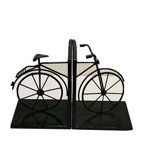 Bicycle Book Ends Black Cruiser Unique