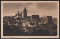 KAR 37071) Echt Foto AK Solbad WIMPFEN a. N. 1927 Bahnpost