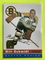 2002-02 Topps Archive Rookie Reprint #62 Milt Schmidt Boston Bruins